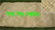 Lauhala Matting Cabana Wall Covering With FIRE RETARDANT<br>3ft x 50ft