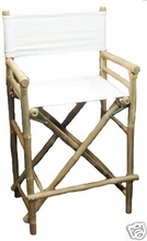 Barstools Tall 2 Eco Bamboo Bar Stools Directors Chair