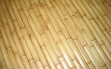 "50 Natural Bamboo Flat Slats 1.75""x6ft"