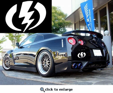 Electric Vinyl Decal Car Performance Stickers