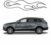 Flames Flame car flames Vinyl Decal Sticker Stickers MC06