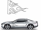Flames Flame car flames Vinyl Decal Sticker Stickers MC07