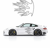 Flames Flame car flames Vinyl Decal Sticker Stickers MC31