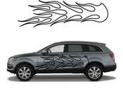 Flames Flame car flames Vinyl Decal Sticker Stickers MC32