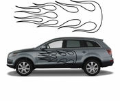 Flames Flame car flames Vinyl Decal Sticker Stickers MC41