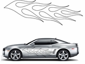 Flames Flame car flames Vinyl Decal Sticker Stickers MC56