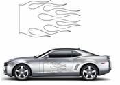 Flames Flame car flames Vinyl Decal Sticker Stickers MC61