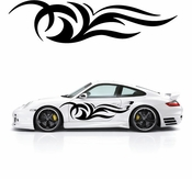 Flames Flame car flames Vinyl Decal Sticker Stickers MC118