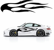 Flames Flame car flames Vinyl Decal Sticker Stickers MC121
