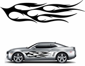 Flames Flame car flames Vinyl Decal Sticker Stickers MC122