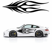 Flames Flame car flames Vinyl Decal Sticker Stickers MC126