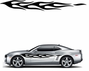 Flames Flame car flames Vinyl Decal Sticker Stickers MC136