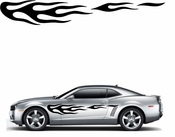Flames Flame car flames Vinyl Decal Sticker Stickers MC137
