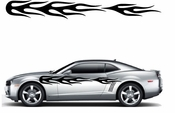 Flames Flame car flames Vinyl Decal Sticker Stickers MC139