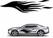 Flames Flame car flames Vinyl Decal Sticker Stickers MC144
