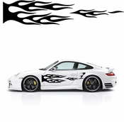 Flames Flame car flames Vinyl Decal Sticker Stickers MC145
