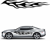 Flames Flame car flames Vinyl Decal Sticker Stickers MC149