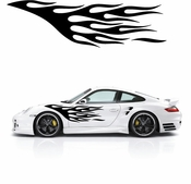 Flames Flame car flames Vinyl Decal Sticker Stickers MC151