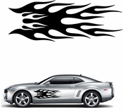 Flames Flame car flames Vinyl Decal Sticker Stickers MC153