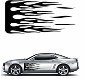 Flames Flame car flames Vinyl Decal Sticker Stickers MC154