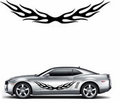 Flames Flame car flames Vinyl Decal Sticker Stickers MC155