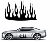 Flames Flame car flames Vinyl Decal Sticker Stickers MC168