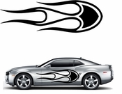 Flames Flame car flames Vinyl Decal Sticker Stickers MC169