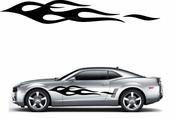 Flames Flame car flames Vinyl Decal Sticker Stickers MC180