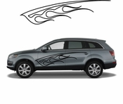 Flames Flame car flames Vinyl Decal Sticker Stickers MC191