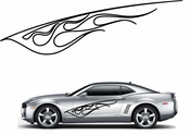 Flames Flame car flames Vinyl Decal Sticker Stickers MC192