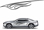 Flames Flame car flames Vinyl Decal Sticker Stickers MC195