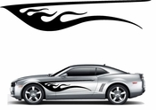 Flames Flame car flames Vinyl Decal Sticker Stickers MC200