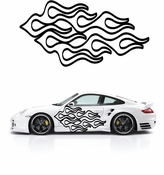 Flames Flame car flames Vinyl Decal Sticker Stickers MC206