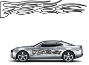Flames Flame car flames Vinyl Decal Sticker Stickers MC218