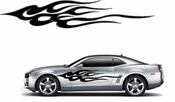 Flames Flame car flames Vinyl Decal Sticker Stickers MC219