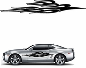 Flames Flame car flames Vinyl Decal Sticker Stickers MC231