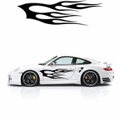 Flames Flame car flames Vinyl Decal Sticker Stickers MC252