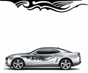Flames Flame car flames Vinyl Decal Sticker Stickers MC288