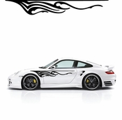Flames Flame car flames Vinyl Decal Sticker Stickers MC290