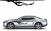 Flames Flame car flames Vinyl Decal Sticker Stickers MC298