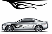 Flames Flame car flames Vinyl Decal Sticker Stickers MC302