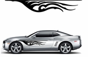 Flames Flame car flames Vinyl Decal Sticker Stickers MC312