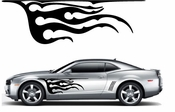Flames Flame car flames Vinyl Decal Sticker Stickers MC322