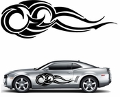 Flames Flame car flames Vinyl Decal Sticker Stickers MC334
