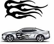 Flames Flame car flames Vinyl Decal Sticker Stickers MC336