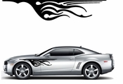 Flames Flame car flames Vinyl Decal Sticker Stickers MC344