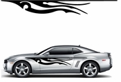 Flames Flame car flames Vinyl Decal Sticker Stickers MC354