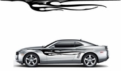 Flames Flame car flames Vinyl Decal Sticker Stickers MC375