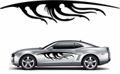 Flames Flame car flames Vinyl Decal Sticker Stickers MC378