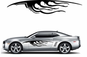 Flames Flame car flames Vinyl Decal Sticker Stickers MC380